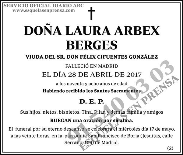 Laura Arbex Berges